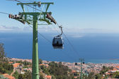 Cable car to Monte at Funchal, Madeira Island Portugal — Stock Photo