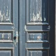Old wooden door with chipping paint — Stock Photo #8226268