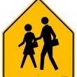 Royalty-Free Stock Vector Image: School Warning Sign