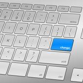 Change Keyboard — Stock Vector