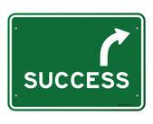 Sinal de sucesso — Vetorial Stock