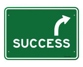 Success Sign — Stock Vector