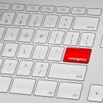 Emergency Keyboard — Stock Vector #13773168