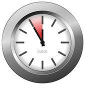 Horloge lumineuse — Vecteur