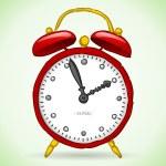 Постер, плакат: Red Alarm Clock