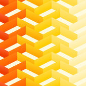 Retro Zigzag Pattern — Stock Vector