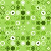 Зеленый круг украшения — Cтоковый вектор