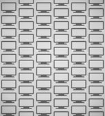 Flat Screen Pattern — Stock Vector