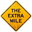The Extra Mile — Stockvectorbeeld