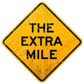Extra mile — Stock vektor