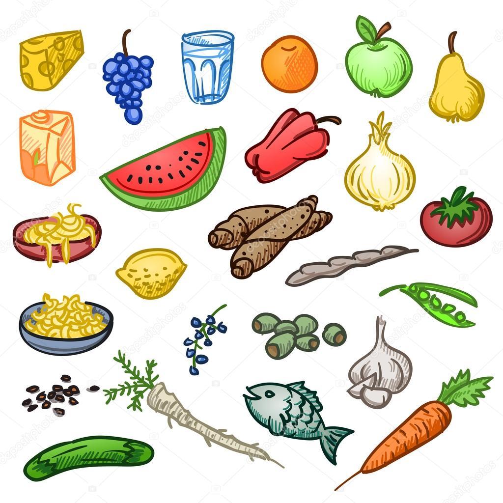 Как нарисовать вкусную и красивую еду