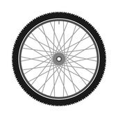 Isolated Bicycle Wheel — Stock Vector