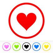 Heart Symbol — Stock Vector