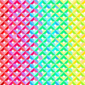 Rainbow Geometric Pattern — Stock Photo