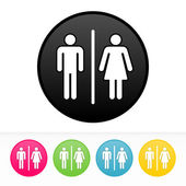 Bathroom Symbol — Stock Photo