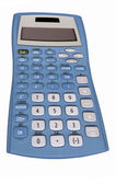 Old blue calculator — Stockfoto