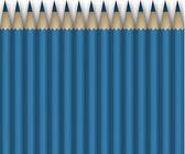 Blue pencils.Background — Stock Photo