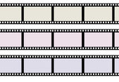 Ribbons of movie film — Stock Photo