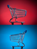 ショッピング カート — ストック写真