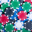 Royalty-Free Stock Photo: Playing Poker Chips background
