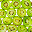 Royalty-Free Stock Photo: Abstract photo of a green kiwi fruit