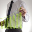 Modern business concept — Stock Photo