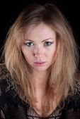 Porträt des jungen schönen kaukasischen — Stockfoto