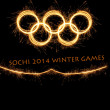 Stock Photo: 2014 Winter Olympiad Sochi Russia