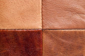 Leather texture up close — Stock fotografie