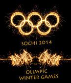 The 2014 Winter Olympiad Sochi Russia — Stock Photo