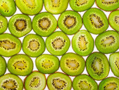 Kiwi slices for background — Foto Stock