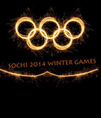 The 2014 Winter Olympiad Sochi Russia — Stock Photo