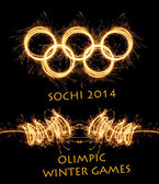 The 2014 Winter Olympiad Sochi Russia — Foto de Stock