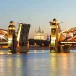 Suspension bridge — Stock Photo #46845951