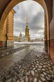 Peter and Paul fortress. — Stock Photo