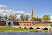 Saint-Petersburg. Peter and Paul fortress. — Stock Photo