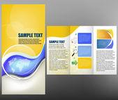 Brochure — Stock Vector
