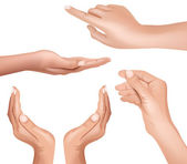 χέρι — 图库矢量图片