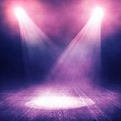 Fond de spotlight — Photo