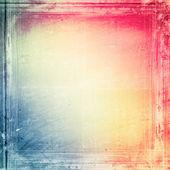 Texture du papier grunge, fond vintage — Photo