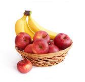 Apples and bananas — Stock Photo