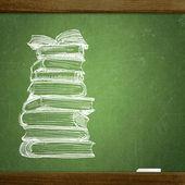 Okul yazı tahtası — Stok fotoğraf