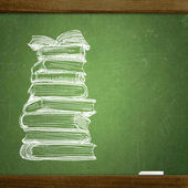 School blackboard — Foto Stock