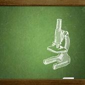 School blackboard — Stock Photo