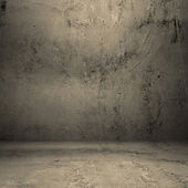 Grungy concrete room — Stock Photo