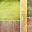 Colorful set of grunge paper texture — Stock Photo #31154953
