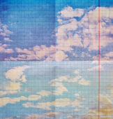 Grunge cloud background — Stock Photo