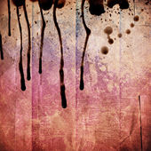 Red distressed funky background — Stock Photo