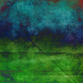 Blue and green grunge paper texture — Stock Photo
