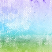Distressed blue and green funky background — Stock Photo